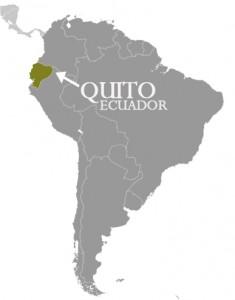 エクアドル_キト_地図
