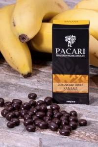 チョコレートカバー フルーツ バナナ